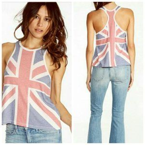 Wildfox This Is England Racerback Tank S